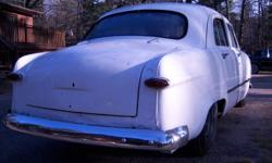 1950 meteor, 4 dr, flathead v8. runs and drives. needs total restoration, or make rat rod. has ownership. asking 3500.00. if interested email or call 705-789-9351 lots of other projects for sale, check posters other adds