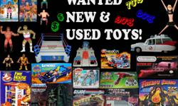 Any Condition Considered! ANYTHING OLDER THAN 1990 CONSIDERED ! *** Just Some of the Stuff I buy  **(See Photos/List Below)** ACTION FIGURES (Figures/Playsets/Vehicles/Accessories)  WWF Superstars (Rubber), Transformers, Thundercats, He-Man, G.I Joe,