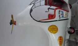 1950'S CHILDREN'S RIDE IN HELICOPTOR TOTALLY ORIGINAL WORKS WELL
