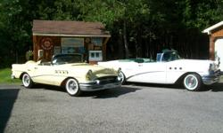 Make Buick Model Wildcat Year 1955 Colour Yellow Trans Automatic 1955 Buick. Creation along the lines of the one Wildcat Buick made in 1955. 1954 and 55 Special parts conjoined with 1968 Skylark shortened frame and floor pan. Buick 350 4bbl motor and