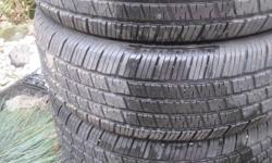 4 x 70% tread 195 60 15 Hankook Optima tread all season tires-ford focus please call 9055127227