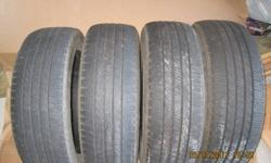 Two tires excellent condition the other two tires were misalignment