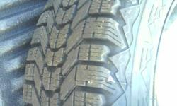 mint condition tires and rims firestone winterforce 195/60R15