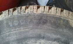 I have 4 snow tire on Cavalier/Sunfire rims.  The tread is almost 100%. These tires and rims cam of of a 2000 4 door Cavalier. I'm asking $150 for the set of 4. Call 613-246-2242 or e-mail me if you are interested in the tires.