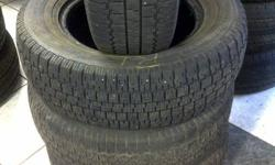 I am selling 4 of 195/70/R14 winter tires. 50% tread.