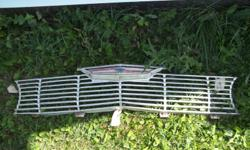 this is an original chevy grill with emblem in good condition for original asking $50 OBO MAKE AN OFFER