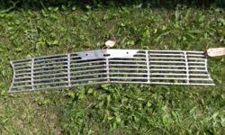 This is a 61 chev  grill  new re-production, asking $60 obo  MAKE AN OFFER