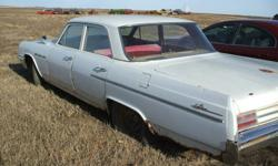 1964 Buick LeSabre 4 door sadan it has a 355 wildcat that is running but is week. P/S 2 speed auto trans, The boby is rusty but it is all there great for parts or could be rebuilt. The car would have to be trailered home. Asking 400.00 or best offer. The