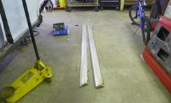 i have a pair of 1964 nova rocker moldings FOR A 2DR,4DR OR WAGON. They are in great condition for being almost 50 years old. For those of you who know about novas and acadians. The 64 moldings are the only year that is not reproduced. And can only be