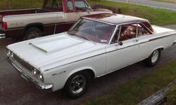 65 dodge coronet. 452 stroker motor manual shift auto.3500 stall 430 gears runs 11.90 on mickey thompson sprotsman tires through mufflers appraised at 26.000.00  20.000.00 or best resonalble offer