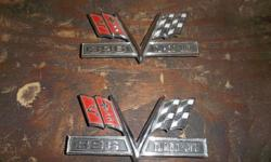 1966/7    ss 396  new gm emblems  found in a old body sho in a bag   $100  call  519-240-1074