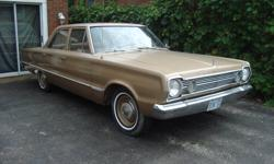 For sale...1966 Plymouth Belevedere I for sale.  Gold Colour, Clean, 4 Door, Automatic, INLINE 6 Cylinder, Runs and Drives Good. Nice Cruising Car. $5500 Cert.    OR     $5000 as is    OR     Best Offer.  Possible Trade. Call 705-721-0263....