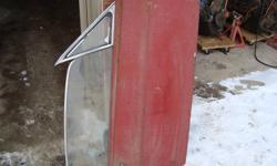 Original 1967-8 Ford Mustang passenger door that is as closs to mint as you can get.  No accidents, rust or repairs and the only flaw is two very small pinholes in pic # 3
