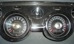 Up for sale is a very nice mustang shelby 8 grand tach and trip speedo cluster. 416 807 6427 thanks for your interest.