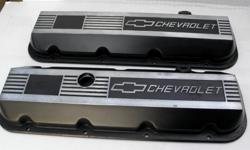 "Chevrolet Big Block 502 454 aluminum valve covers short from ""GM Performance parts"" crate engine, $180. 67 68 396 BBC Water Pump $60. 12 Bolts Rear-end Chrome Cover $20."