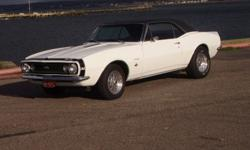 I have 67 camaro 350 4 speed this car has angle plug head turbo 292 single plane dome 750 holley, hookersuper competion headers , super t10  4speed with lakewood bellhousings,and has flowmaster 40exhaust this car is driven lot but needs tlc it is a good