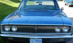 For sale a 1967 Dodge Coronet 440, original paint, V8-273, automatic with only 42,000 miles. Standard steering & brakes. Inspected and drives very well.  Excellent condition. Original owner is asking $20,000.  (Please do not respond to this e-mail as I am