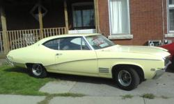 good car needs some tlc on interior head liner front seat and door panels and bumpers have dings some extra chrome trim in trunk. Motor runs, trans good car is over all very decent shape for the year sad paint job dose not do the car justice, best offer