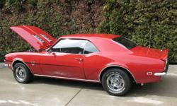 Totally restored number matching real SS car . Over $45000 invested . 350 295 hp M20 4 spd 12 bolt 3:55 posi Matador red with deluxe black houndtooth interior .Factory console with gauge package and tic tac tach .