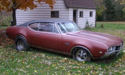 1968 Oldsmobile 442 car has 78,000 original miles and is in very good condition. Engine is a 400 Cu. In. Big Block Must be seen to be appreciated Body has not been altered and the car has never been raced Asking $8,500.00 or closest reasonable offer. Not