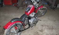 1969 BSA 650 lighting totaly rebuilt,axles,brakes,tranny,new clutch,total engine,new carbs,converted to electronic ing,custom built springer front end,hardtail jigged and weld by AMac racing,new tires,leather seat. nice bike has under 100 km's since