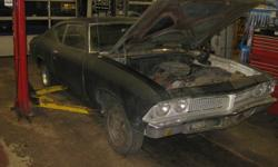 1969 Pontiac Beaumont 117811m on clock 350 column shift auto new trunk pan needs restoration all drive line in tacked does run 2800.00 807-627-8195