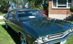 """69 Chevy   327 Automatic, ceramic headers, 2 1/2"""" Flowmaster exhaust,  new tires   interior excellent condition, body in great shape.    OPEN TO OFFERS !!"""