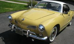 """The best Ghia you will find!!! All original body,mostly original paint.3 prior owners,Purchased new at """"GEORGIAN BAY MOTORS"""" Owen Sound. Have original papers & books. Original interior like new. Rare """"auto stick"""" transmission. Judged BEST air cooled at"""