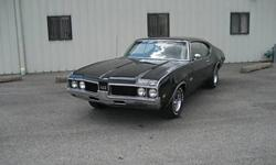1969 442 4 gear,this is a southern car,black on black 400 4gear,3:42 posi,25000 obo.