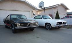 1969 Barracuda Notch Back. New 360 Magnum Crate Motor. New 2/12 inche exhaust with Flow Master Mufflers. Factory A/C car A/C not installed in car but i still have it. Car has plenty of power and fun to drive. Reason for selling. Bought four speed car and