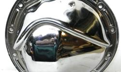 1970 69 68 67 66 Chevy Camaro Chevelle Impala Chrome 12 Bolts Cover Chevrolet car 12 bolt differential used chrome rear end cover, made of heavy gauge steel from the 70s., it does have few marks, fit all 12 bolt Chevy cars. $45. Shipping is available upon