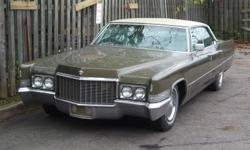 For Sale 1970 caddy, 1 owner, garage stored, nice running car, serious inquries only. $4900 OBO or fair trades welcome   contact by email only!   mailto:monicagarofalo@hotmail.com