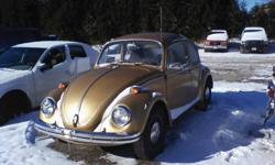 1970 Volkswagen runs good. Can drive off the property nothing is needed for a safety check.