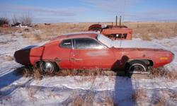 Car has no engine, body has had work and some places the bondo is flaking. open to offers.