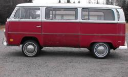 1971 Volkswagon Bus/Vanagon This bus has been owned by 2 people in Thunder Bay the last a mechanic. The bus runs and drives. Floor, pillars etc are in amazing shape. No cracks or chips in any of the glass. Great restoration project or drive as is. These