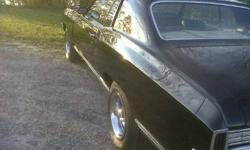 1972 monte carlo 350 motor 350 tranmishion black on black floors trunk body mount mint ; has headers with duals magflow aliunim intake 650 edelbrok. only thing it needs is front seat covers must sell bought anouther car call 9056517569