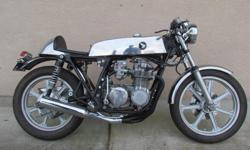 1972 Honda CB550K Cafe Racer Special. Fast. CR Special Carbs.. Just rewired and brought up to road specs. Just a delight to ride. $5500 http://internationalclassicmotorcyclesmotortrikes.com/motorcycles-motortrikes-for-sale-by-owne 2701 Alberni Hwy,