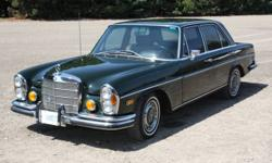 1972 MERCEDES-BENZ 280SE 176,000 km, 6 cyl, Automatic Trans., RWD, Sedan, Air conditioning, AM/FM stereo, Four new Michelin Tires, Power steering, Power windows, Tinted glass. Truly a classy car! Must be seen! Stored indoors. Looks and drives beautifully!
