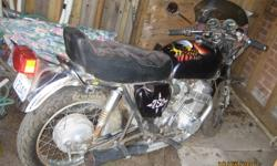 First time offered - Second owner ,  I bought in  1975 , had carbs rebuilt and running around 5 yrs ago , No time ...kids , 15,055 miles , Jardene header , custom seat , paint by VooDoo , straight bars , fairing , fibreglass front fender , K&N air filters