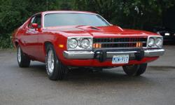 440 cid engine, 727 auto with shift kit 8 3/4 rear end with 355 gears Sure Grip, power steering, manual brakes Front and rear sway bars, bucket seats AM/FM radio, console Numbers Matching 110,000 milesOne of approximately 386 Road Runner GTX?s built in