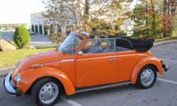 Purchased for my father in 2007. We have had this car since 2008. Time to let someone else enjoy. Excellent condition, take it to the car shows or just enjoy the drives in the spring, summer and fall. This is a Super Beetle, upgraded engine, dual carbed.