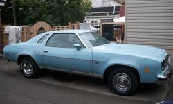 1975 cevelle malibu for sale . asking 4200.00 .in good shapr for the year does need paint and body work no holes in body , cert 2 months ago , lots of new parts on car . anymore info call 1 705 750 0797 and ask for wilfred .