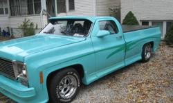 1977 CHEVY PICKUP CHOPPED DOWN 327 ENGINE- SLAP STICK JUST TO MUCH TO LIST ABOUT THIS TRUCK TURN KEY TRUCK 8000 OR TRADE FOR EQUAL VALUE, OR ANTQUE CAR OR WILL TRADE FOR NEWER TOW-TRUCK PLEASE CALL 519-999-3392