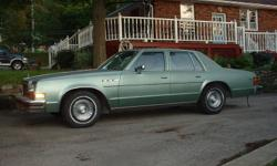1978 Buick 4 door sedan Family car since new. Stored or in Florida during winter months. Must go, make me an offer.