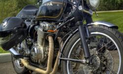 1978 Honda CB750 $5500 K model, SOHC-4, cafe racer style 55,000 kms, second owner Selling because I would like to purchase a dualsport motorcycle for trail riding and exploring. I also have two other motorcycles and I just never ride the CB750 anymore.