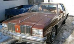 I have a 1979 olds cutlass supreme automatic with a small olds V8 engine (4.3L 262ci) car is orig (motor trans rims etc) with 85,600 orig km its in excellent shape needs some minor TLC and by tlc i mean little things like some plastic interior parts are