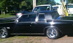 Make Buick Model LeSabre Year 1981 Colour black kms 116000 Trans Automatic 1981 Buick Lesabre, 307 stock.