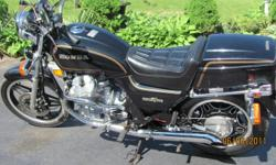 1981 Honda Silver Wing (Simular to CX 500- sister to Gold Wing) Only 14,796 km - Excellent original paint and seat - New battery and Jardine Mufflers - Certified , Asking 2200.00 - If interested please call 519-583-1893 Port Dover - Ben