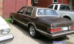 l have 1981 pontiac grand lamans  4 door needs brake work and front a arm work   put new calipers on flex lines and brakes in front  and new line to rearbut need brakes in rear  first 500 cash takes it would make good derby car or restore