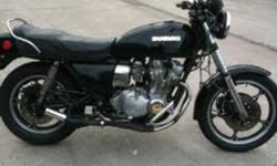 Hello, I have a 1981 Suzuki GS for sale. I'm asking $1000 O.B.O. It's in great shape, new front tire and bearings, new seat. Road it all last season. Passed safety last spring. Email me or give me a call. Chris.our trade for car good on gas